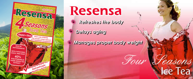 Resensa 4 Seasons Iced Tea