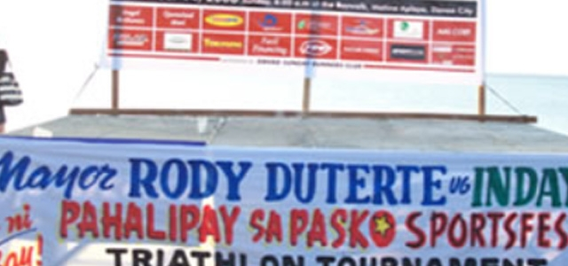 Davao's 5th Mayor's Cup Triathlon Co-sponsored by TREVOCA