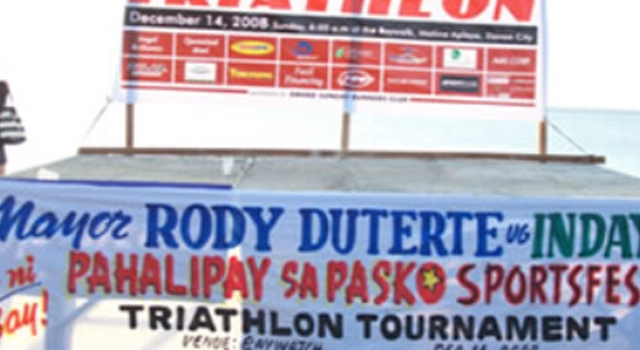 Davao's 5th Mayor's Cup Triathlon Co-sponsored by TREVOCA